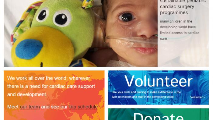Branding & Website ~ Cardiac Alliance