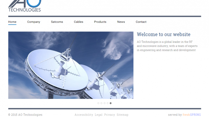 Site Launch ~ AO Technologies