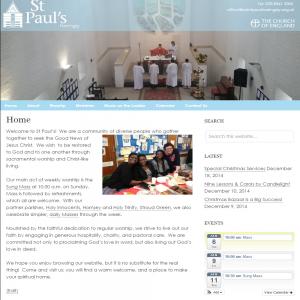 St Pauls Harringay Website