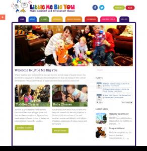 Little Me Big You Website