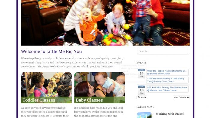 Website ~ Little Me Big You