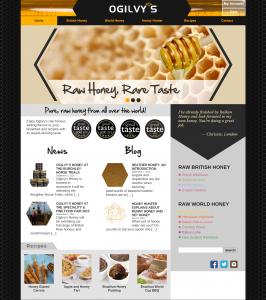 Ogilvys Honey WooCommerce Website