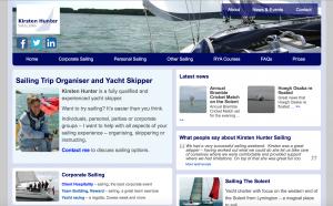 Kirsten Hunter Sailing Mobile Upgrade