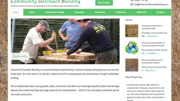 Website Launch ~ Community Outreach Building