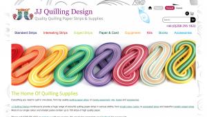 eCommerce Business Website - JJ Quilling Design