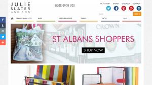 eCommerce Business Website - Julie Slater And Son