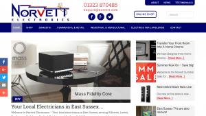 eCommerce Business Website - Norvett Electronics