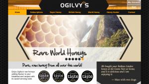 eCommerce Business Website - Ogilvys