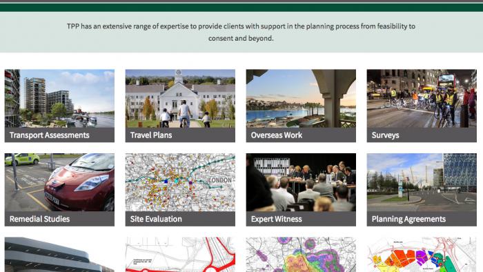 Transport Planning Consultancy Website