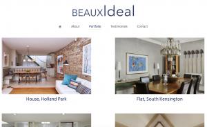 BeauxIdeal - Projects Screenshot