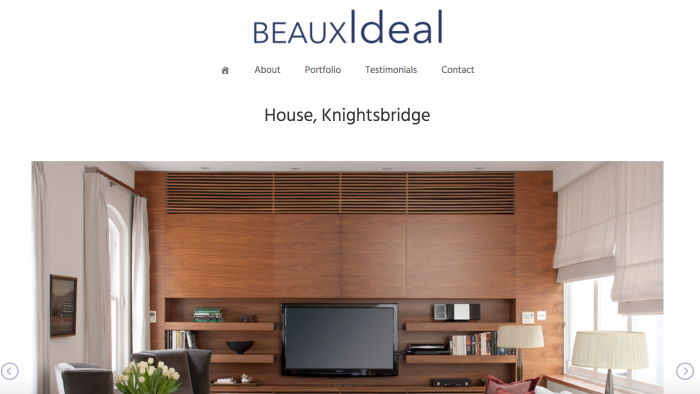 BeauxIdeal - Project Screenshot