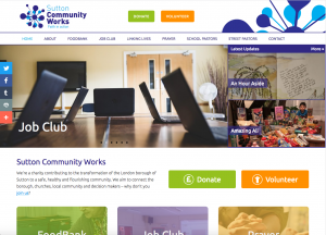 SuttonCommunityWorks.org Screenshot